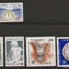 Sellos: R18/ FRANCIA 1976, Y&T 1874/78 MNH**. Lote 183004613
