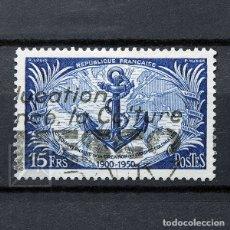 Sellos: FRANCIA 1951 ~ ANIVERSARIO DE LAS TROPAS COLONIALES ~ SELLO USADO BUENO. Lote 183187865