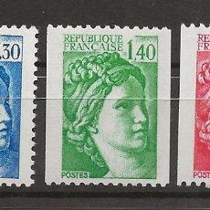 Sellos: R18.BAUL_2/ FRANCIA Y&T 2154/56, MNH**. Lote 183192075
