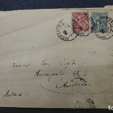 Sellos: CARTA DE PARIS FRANCIA A HOLANDA AMSTERDAN. Lote 183209331
