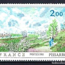 Sellos: 1981 FRANCIA YVERT 2136 PINTURA DE CAMILLE PISARRO - NUEVO MNH** . Lote 183507526