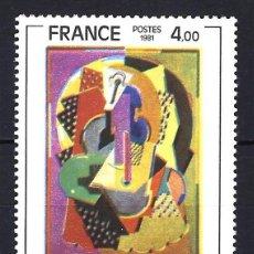 Sellos: 1981 FRANCIA YVERT 2137 PINTURA DE ALBERT GLEIZES - NUEVO MNH** . Lote 183507586