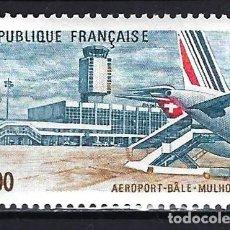 Sellos: 1982 FRANCIA YVERT 2203 AEROPUERTO DE BASEL-MULHOUSE - NUEVO MNH** . Lote 183507638