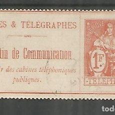 Sellos: FRANCIA SELLOS PARA TELEFONOS TELEPHONE STAMP . Lote 183590468