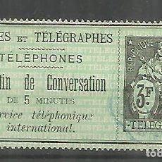 Sellos: FRANCIA SELLOS PARA TELEFONOS TELEPHONE STAMP . Lote 183590816