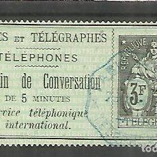 Sellos: FRANCIA SELLOS PARA TELEFONOS TELEPHONE STAMP . Lote 183590856