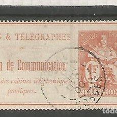 Sellos: FRANCIA SELLOS PARA TELEFONOS TELEPHONE STAMP . Lote 183590955