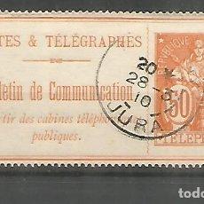 Sellos: FRANCIA SELLOS PARA TELEFONOS TELEPHONE STAMP . Lote 183591173