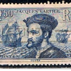 Sellos: SELLO FRANCIA // Y&T 297 // 1934 .. JACQUES CARTIER. Lote 186102060
