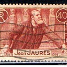 Sellos: SELLO FRANCIA // Y&T 318 // 1938 ... JEAN JAURES. Lote 186102770