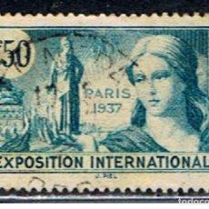 Sellos: SELLO FRANCIA // Y&T 336 // 1937. Lote 186103822