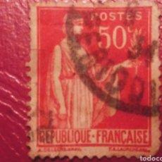 Sellos: 50 CÉNTIMOS REPÚBLICA FRANCESA. Lote 186357168