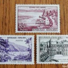 Sellos: FRANCIA N°1192/94 MNH GOMA RENOVADA (FOTOGRAFÍA REAL). Lote 189323456