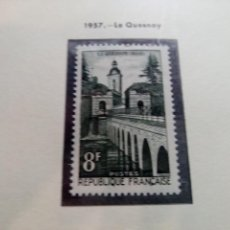 Sellos: FRANCIA 1957. LE QUENSNOY. Lote 189919177