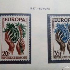 Sellos: FRANCIA 1957. EUROPA. Lote 189946647