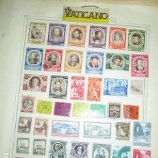Sellos: IMPORTANTE LOTE SELLOS DE MAS DE 100 AÑOS VATICANO ANTIGUOS FILATELIA. Lote 190894721