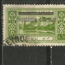 Francobolli: GRAN LIBANO COLONIA FRANCESA YVERT NUM. 85 USADO. Lote 191087510