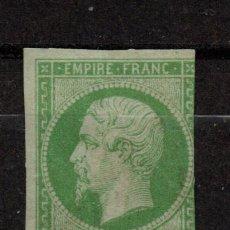 Sellos: FRANCIA 12* - AÑO 1854 - NAPOLEON III. Lote 191611606