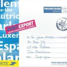 Sellos: 1996. FRANCIA/FRANCE. BESANÇON. MATASELLOS TURISTICO EN SOBRE PORTES PAGADOS. TOURISTIC POSTMARK.. Lote 192503933