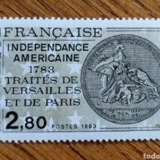 Sellos: N°2285 MNH, INDEPENDENCIA AMERICANA 1783 (FOTOGRAFÍA REAL). Lote 192992885