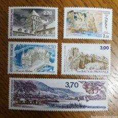 Sellos: N°2464/66 MNH, SERIE TURÍSTICA 1987 (FOTOGRAFÍA REAL). Lote 193011087