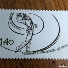 Sellos: N°2015 MNH, FEDERACIÓN FRANCESA DE GOLF (FOTOGRAFÍA REAL). Lote 193014880