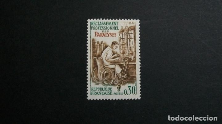 /16.02/-FRANCIA-1964-0,30 FR. Y&T 1405 EN NUEVO**(MNH) (Sellos - Extranjero - Europa - Francia)