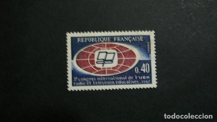 /16.02/-FRANCIA-1967-0,40 FR. Y&T 1515 EN NUEVO*(MH)-SIN GOMA (Sellos - Extranjero - Europa - Francia)