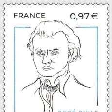 Sellos: FRANCE 2020 - RENE GUY CADOU MNH. Lote 194342341
