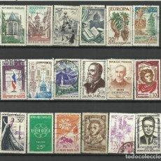 Francobolli: FRANCIA LOTE SELLOS USADOS. Lote 198926018