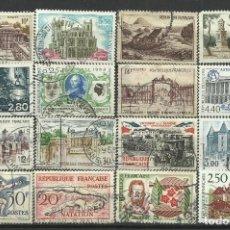 Francobolli: FRANCIA LOTE SELLOS USADOS. Lote 198926072