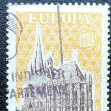 Sellos: 1972. FRANCIA. 1714. TEMA EUROPA. CATEDRAL DE AIX-LA-CHAPELLE. USADO.. Lote 199672412