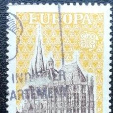 Sellos: 1957. FRANCIA. 1129. CATEDRAL DE RUÁN. USADO.. Lote 199672482