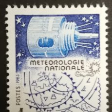 Sellos: FRANCIA, N°2292 MNH, METEOROLOGÍA NACIONAL 1983 (FOTOGRAFÍA REAL). Lote 264194756