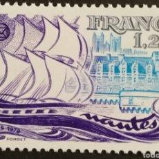 Sellos: FRANCIA, N°2048 MNH FEDERACIÓN DE SOCIEDADES FILATÉLICAS 1979 (FOTOGRAFÍA REAL). Lote 264196108