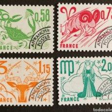 Sellos: FRANCIA, N°150/53 MNH PREOBLITERADOS 1978 (FOTOGRAFÍA REAL). Lote 202566043