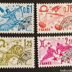 Sellos: FRANCIA, N°154/57 MNH, PREOBLITERADOS 1978 (FOTOGRAFÍA REAL). Lote 202566330