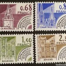Sellos: FRANCIA, N°162/65 MNH, PREOBLITERADOS 1979 (FOTOGRAFÍA REAL). Lote 202566702