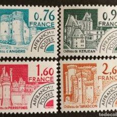 Sellos: FRANCIA, N°166/69 MNH, PREOBLITERADOS 1980 (FOTOGRAFÍA REAL). Lote 202567013