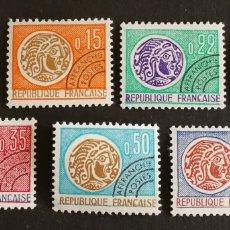 Sellos: FRANCIA, N°123/29 MNH, PREOBLITERADOS 1964/69 (FOTOGRAFÍA REAL). Lote 202567807