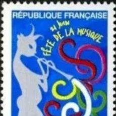 Sellos: FRANCIA,MNH, FIESTA DE LA MÚSICA, EUROPA CEPT 1998 (FOTOGRAFÍA REAL). Lote 202581276
