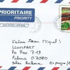 Sellos: 2004. FRANCIA/FRANCE. SOBRE CIRCULADO. SELLO YVERT 3647. MERCADO DE PROVENCE. ALIMENTACIÓN/FOOD.. Lote 203457887