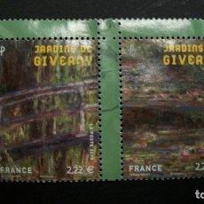 Selos: /17.05/-FRANCIA-2010-2 X 2,22 EUR Y&T 4479/80 SERIE COMPLETA EN NUEVO SIN GOMA(*MH). Lote 204592373