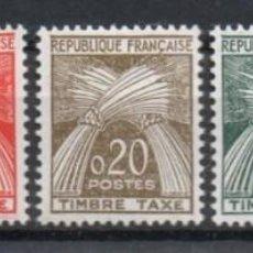 Sellos: FRANCIA AÑO 1960 YV 90/94*** MNH TASAS GAVILLAS. Lote 204599781