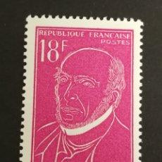 Sellos: FRANCIA,N°1092, 1957 MNH (FOTOGRAFÍA REAL). Lote 205183627