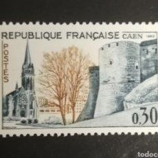 Sellos: FRANCIA, N°1389 MNH,(FOTOGRAFÍA REAL). Lote 205189720