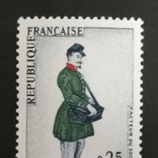 Sellos: FRANCIA, N°1516 MNH, 1967 (FOTOGRAFÍA REAL). Lote 205198707
