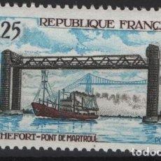 Sellos: R18/ FRANCIA 1968, Y&T 1564 MNH**. Lote 205466936