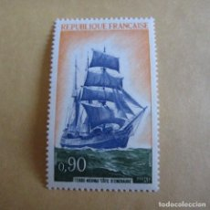 Sellos: FRANCIA 1972 YVERT Nº 1717**, GOLETA. Lote 206340493
