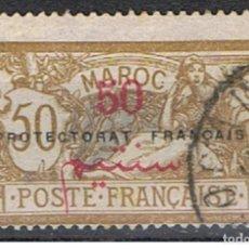 Sellos: MARRUECOS PROTECTORADO FRANCES // YVERT 50 // 1914-21 ... USADO. Lote 206812527